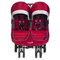 Wózek BABY JOGGER City Mini Double Crimson/Gray karmazynowo-szary 12436 + DARMOWY TRANSPORT!