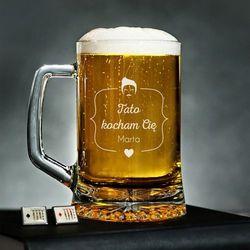Kocham Tatę - Personalizowany Kufel - Kufel do piwa
