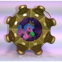 Filly Elfy pudełko z biżuterią różowo-niebieski kucyk