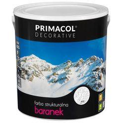 Farba strukturalna Baranek Biały 5 l Primacol Decorative