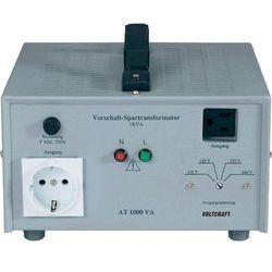 Tranformator zwiększający napięcie Voltcraft AT-1000 NV, 115/125/230/240 V/AC, 1000W