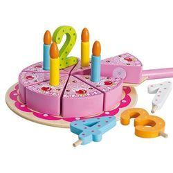 Eichhorn, Tort z akcesoriami, zabawka drewniana Darmowa dostawa do sklepów SMYK