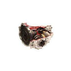 Foto naklejka samoprzylepna 100 x 100 cm - Samochód automatycznej zmiany biegów samodzielnie na białym tle