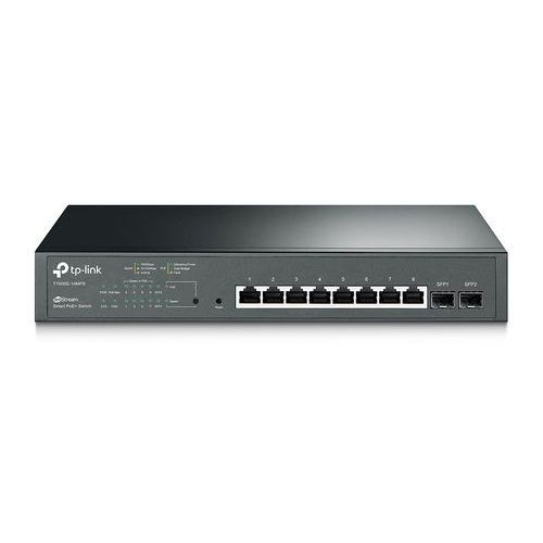 T1500G-10MPS Switch Smart 8xGE PoE+ 4xSFP