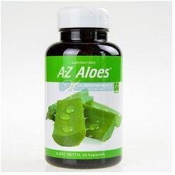 A-Z Aloes 60 kapsułek - wspomaga odżywianie komórek i regulując ich funkcje Kurier: 13.75, odbiór osobisty: GRATIS!
