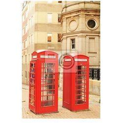 Plakat Czerwone budki telefoniczne w Londynie
