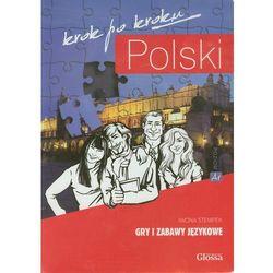 Polski krok po kroku Gry i zabawy językowe (opr. kartonowa)