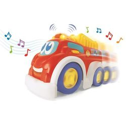 Smiki, muzyczny samochód, straż pożarna, zabawka interaktywna Darmowa dostawa do sklepów SMYK