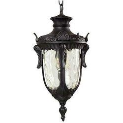 Zewnętrzna LAMPA wisząca PHILADELPHIA PH8/M BLK Elstead OPRAWA ogrodowa ZWIS IP44 outdoor czarny