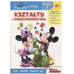 Disney Ucz się z nami Klub Przyjaciół Myszki Miki Kształty i przeciwieństwa (opr. miękka)