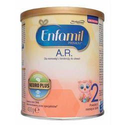 Mleko ENFAMIL A.R. 2 AR 2 mleko następne przeciw ulewaniu 6-12 miesięcy 400g