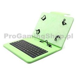 Akcje-FlexGrip Sprawa z klawiatura dla Asus Memo Pad 10-ME103K Zielone