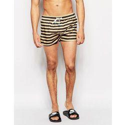 Oiler & Boiler Champion Shortie Swim Shorts - Black