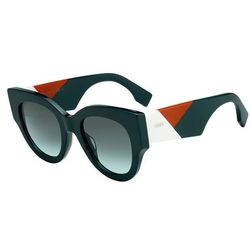 Okulary Słoneczne FF 0118S ORCHIDEA AQMUE (Fendi) opinie +