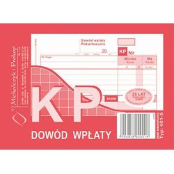Dowód wpłaty KP Michalczyk&Prokop 401-5 - A6 (wielokopia)