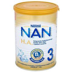 NESTLE NAN HA 3 400g Mleko modyfikowane następne z B.Lactis dla dzieci