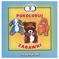 Pokoloruj Zabawki (opr. miękka)