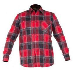 LAHTI PRO Koszula flanelowa w kratę czerwona rozmiary S- XXL (ZNALAZŁEŚ TANIEJ - NEGOCJUJ CENĘ !!!)