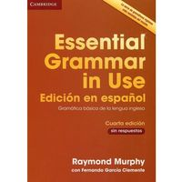 Essential Grammar in Use Book Without Answers Spanish Edition (opr. miękka)