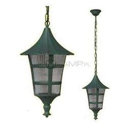 Zewnętrzna LAMPA wisząca K-5179H Kaja OPRAWA ogrodowa outdoor czarny zielony