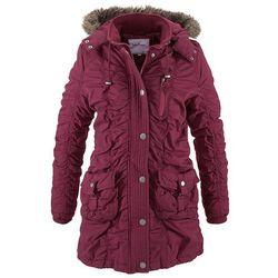 Płaszcz zimowy bonprix jeżynowy