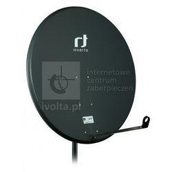 INVERTO/IDLB-STCFgrey Antena SAT 120cm, INVERTO IDLB-STCF stal, kolor szary, zysk do 42,3dB