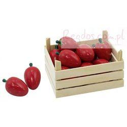 Owoce w skrzynce, truskawki, 10 elementów.