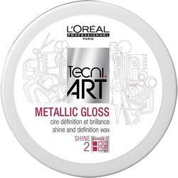 L'OREAL PROFESSIONNEL Tecni Art Metalic Gloss Shine And Definition Wax wosk nablyszczajacy do stylizacji wlosow Force 2 50ml