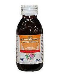 Syrop Prawoślazowo-Tymiankowy syrop - 100 ml