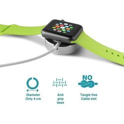 Mini Desk Holder - Mini stacja dokująca Apple Watch (srebrny)