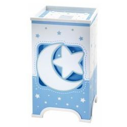 LED Lampa stołowa dziecięca BLUE MOON 1xE14/1W LED