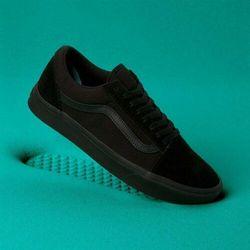 vans old skool trainers in black v3z6ieo black w kategorii