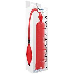 ToyJoy Manpower Power Pump Red Pompka powiększająca do penisa czerwona