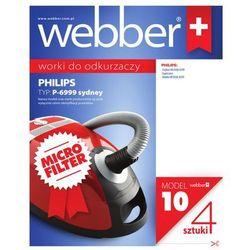 Worki syntetyczne WEBBER do Philips Sydney P6999