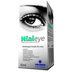HIALEYE hialuronian sodu 0,2% krople do oczu 10 ml