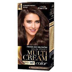 Farba do włosów Joanna Multi Cream Color cynamonowy brąz 40