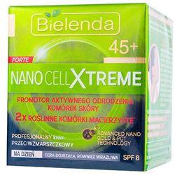BIELENDA NANO CELL XTREME FORTE 45+ Krem na dzień przeciwzmarszczkowy SPF8 zmarszczki 50ml
