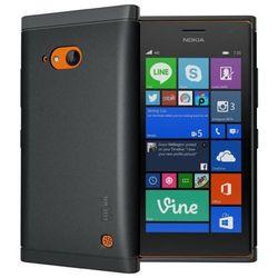 Obudowa Tudia Lite Nokia Lumia 730 Black