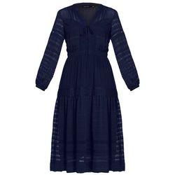 Karen Millen Długa sukienka navy