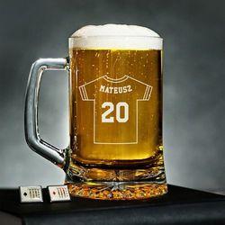 Numer Na Koszulce - Personalizowany Kufel - Kufel do piwa