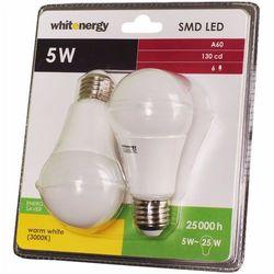 Żarówka LED E27 5W WhitEnergy