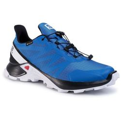 Buty SALOMON - Supercross Gtx GORE-TEX 409541 Lapis Blue/Black/White