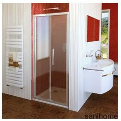 LUCIS LINE drzwi prysznicowe składane do wnęki 90cm DL2815