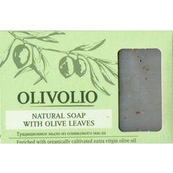 Olivolio Naturalne mydło sodowe szare z liściem oliwki i oliwą z oliwek 75-78%