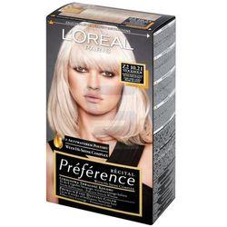 Loreal Paris Recital Preference Farba do włosów Stockholm Bardzo Bardzo Jasny Blond Opalizująco-Popielaty nr Z2 10.21