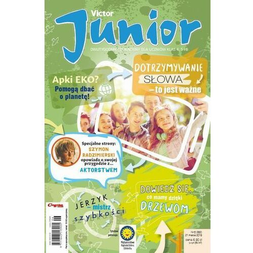 Victor Junior nr 6 (382) 21 marca 2019 - No author - ebook
