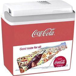 Lodówka turystyczna, samochodowa, termoelektryczna Ezetil Sun&Fun E24 IML CocaCola 524900, 12 V, 21.7 l, Czerwony, Biały