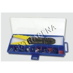 Zestaw konektorów + zaciskarka - M208-3