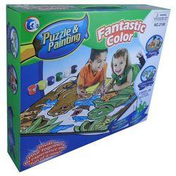 Puzzle do malowania Plaża 12