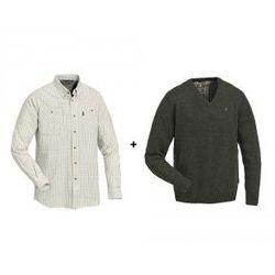 Komplet Pinewood (9000) - Koszula (9031) + Sweter (9548)